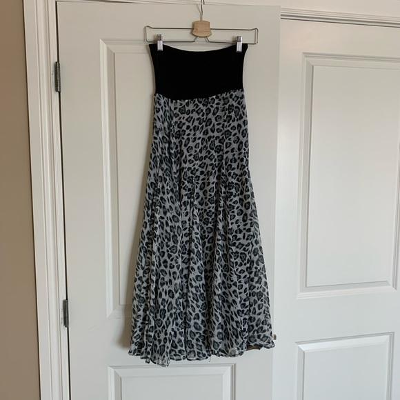 Summer Leopard Print Skirt